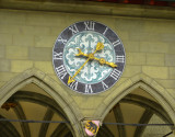 The clock of the Town Hall...