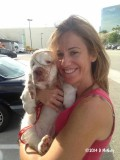 Murphy  with his new mom 141003 009.jpg