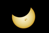 Oct. 23, 2014 Partial Solar Eclipse