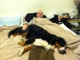 Sleeping on Daddy's side
