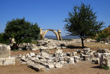 Arrivée sur le site d'Éphèse, Turquie