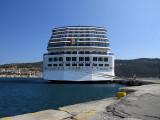 Costa accosté à Samos