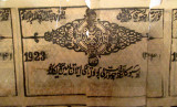 Khiva - argent sur soie