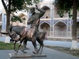 Statue de l'humoriste MULLA NASREDDIN