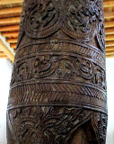 Khiva- colonne sculptée