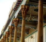 Colonnes sculptées