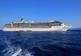 vue du Costa Mediterranea
