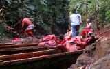 excursion à une cascade du rio Chagres avec les Embera