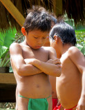 Visite chez le peuple Embera