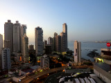 Vue de Panama city