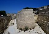 l'imposante fortification de La Valette