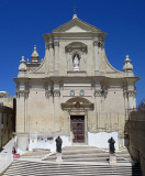 église Baroque, forteresse de Victoria, Gozo