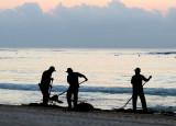 Les nettoyeurs de plage