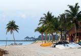 plage et catamarans