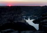 la Snake River et son Canyon