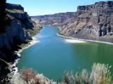 Canyon de la Snake River