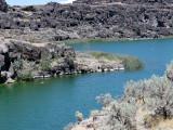 lac volcanique près de Twin Falls