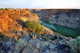 Twin Falls, le pont sur la Snake, en ville