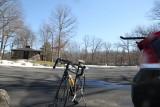 bike/triking , around Lake Kanawauke,Harriman State Park,NY