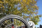 bike/Triking Along Lake Kanawauke in Harriman State Park, NY