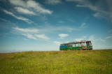 18th July 2014  old bus near Arnol