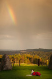 4th October 2014  sudden rainbow