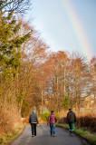 1st January 2017  New Year rainbow
