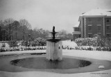 ECU Cotton Hall in the Snow 1936