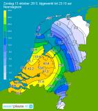 12/13/14 Oktober 2013: Extreme neerslag KNMI De Bilt