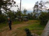 Onze homestay, nabij telpost 1