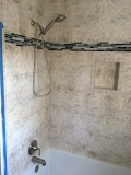 Guest tub/shower finished