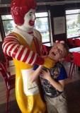 Choking at McDonalds