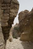 Wadi Muthlim - small Siq