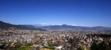 Kathmandu city and Mimalaya mountain
