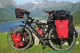 457    Marius touring Norway - Intec R-T-R04 touring bike