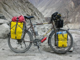 458    Keef touring Pakistan - Dawes Sardar touring bike