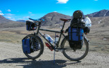 461    Nathan touring Alaska - Thorn Nomad touring bike