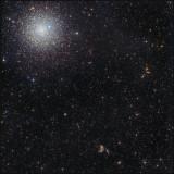 NGC 6752  with IFN - widefield