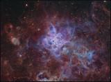 NGC 2070 - The Tarantula nebula live from Namibia