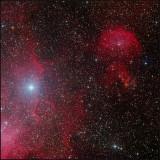 The Running Chicken WING (IC 2944) - RGB