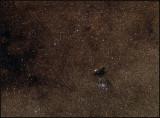 NGC 6520  with Barnard 86