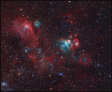 Neighbours from the Large Magellanic Cloud