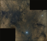 The Pipe nebula - central mosaic