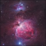 Messier 42,43 & a Running man