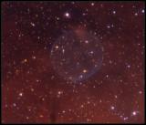 The Soap bobble nebula - a closer look