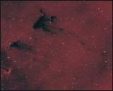 Barnard 163 - The FROG nebula