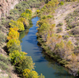 Verde River as seen from the Verde Canyon railroad