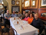 Lunch after my presentation at Mote in honor of Genie.