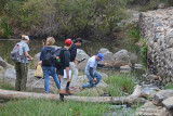 River Water Sampling Old Mission Dam