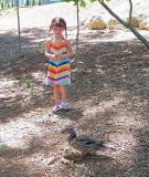 Lauren and Duck